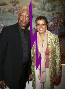 Morgan Freeman and wife, Myrna Colly-Lee
